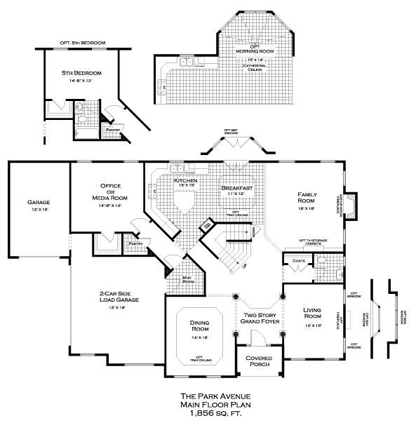 Park Avenue First Floor Plan